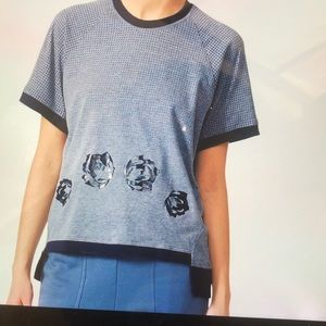 Adidas by STELLA MCCARTNEY gray climcool tee top S
